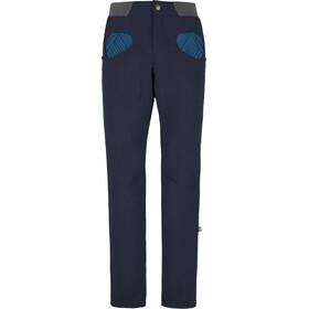 E9 Rondo Art Story Spodnie Mężczyźni niebieski
